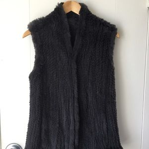 June Rabbit Fur vest